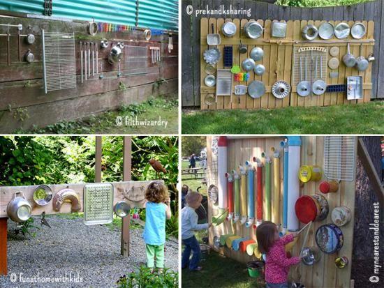 Un Mur Musical Summer Fun Musicals Sensory Garden Et Outdoor