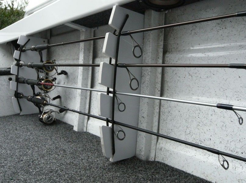 We Show You How To Make A Diy Rod Storage Rack For Your Boat Nice And Simple Design That Can Be Changed Suit Any Style Of Fishing
