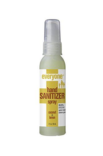 Everyone Hand Sanitizer Spray Coconut And Lemon 6 Count For
