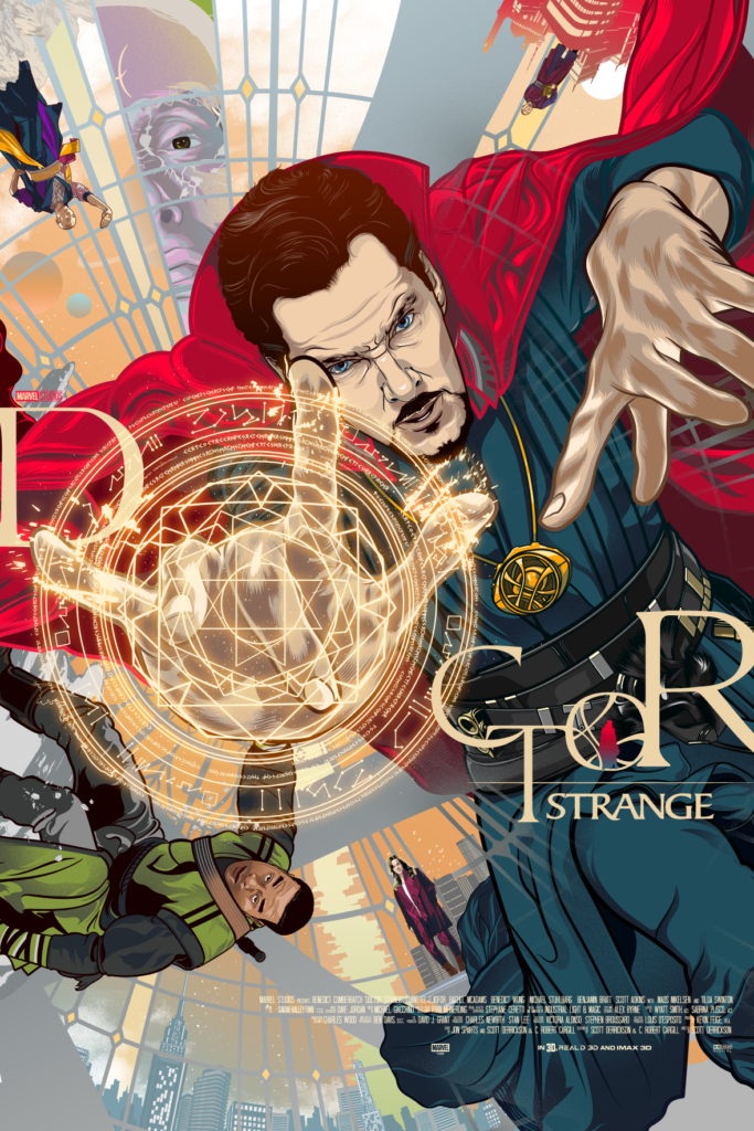 Poster Posse Tribute poster for Marvel's Doctor Strange by Vincent Aseo