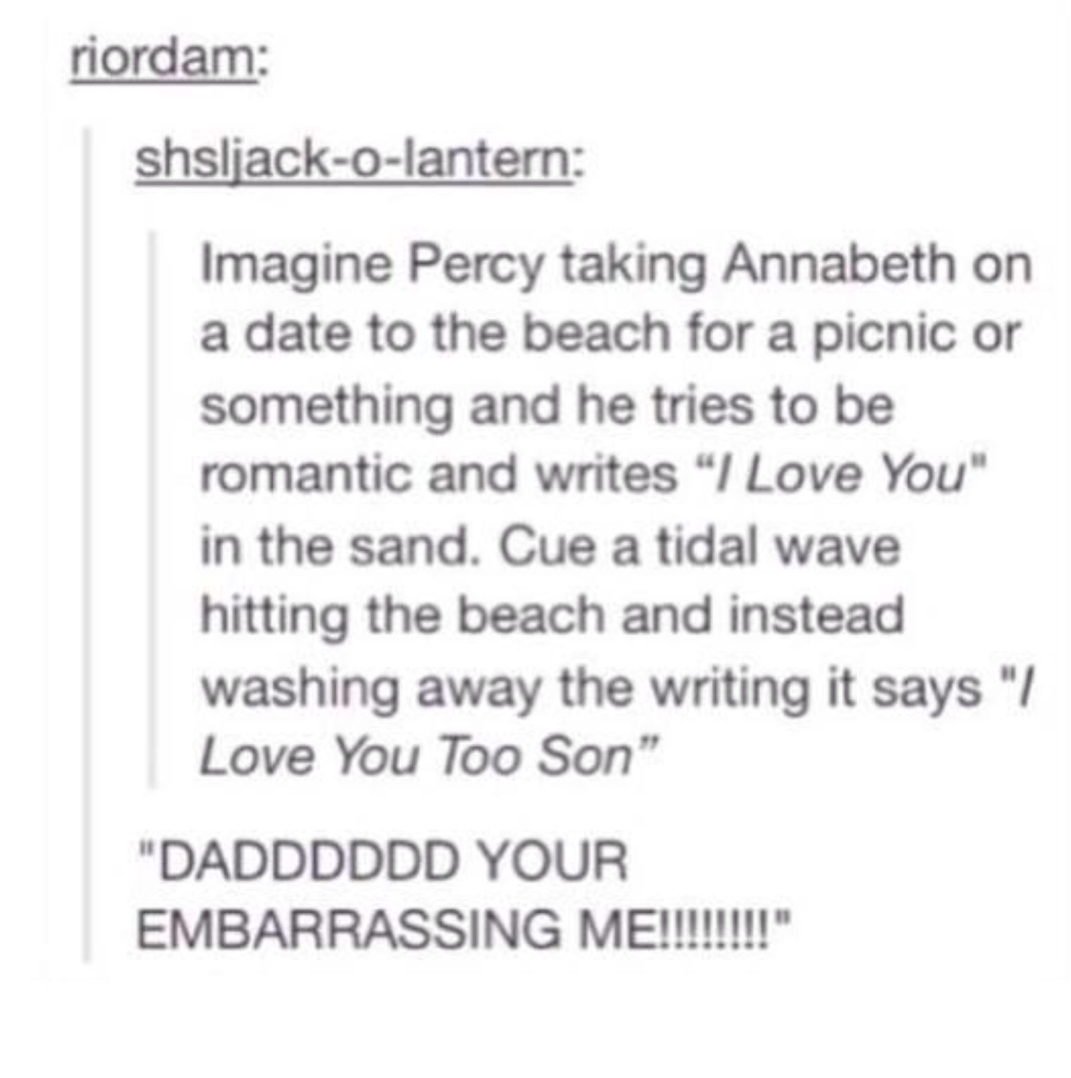 Percabeth dating fanfiction