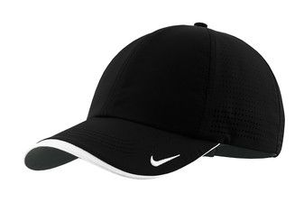 Nike Golf Dri FIT Swoosh Perforated Cap from NYFifth