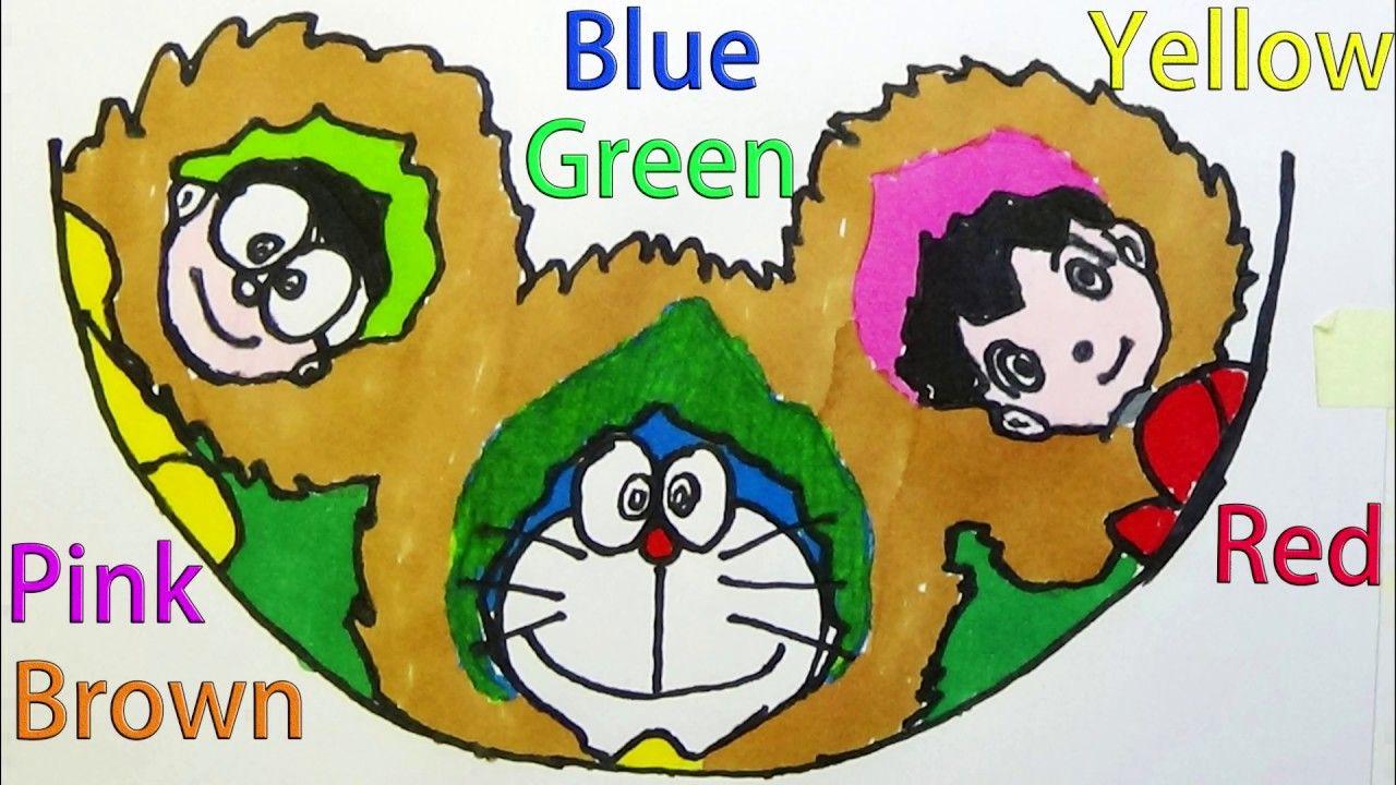 Draw Doraemon Nobita Shizuka Coloring Great Adventure In The Antarctic K Greatest Adventure Doraemon Color