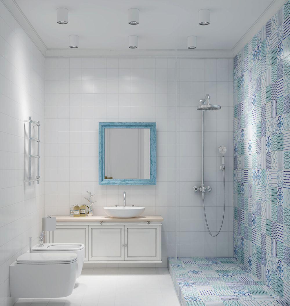 Ванная, дизайн ванной в скандинавском стиле