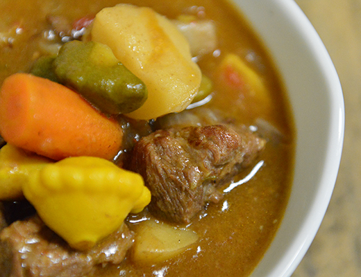 Baby Dutch Yellow Potato and Baby Vegetable Beef Stew ...