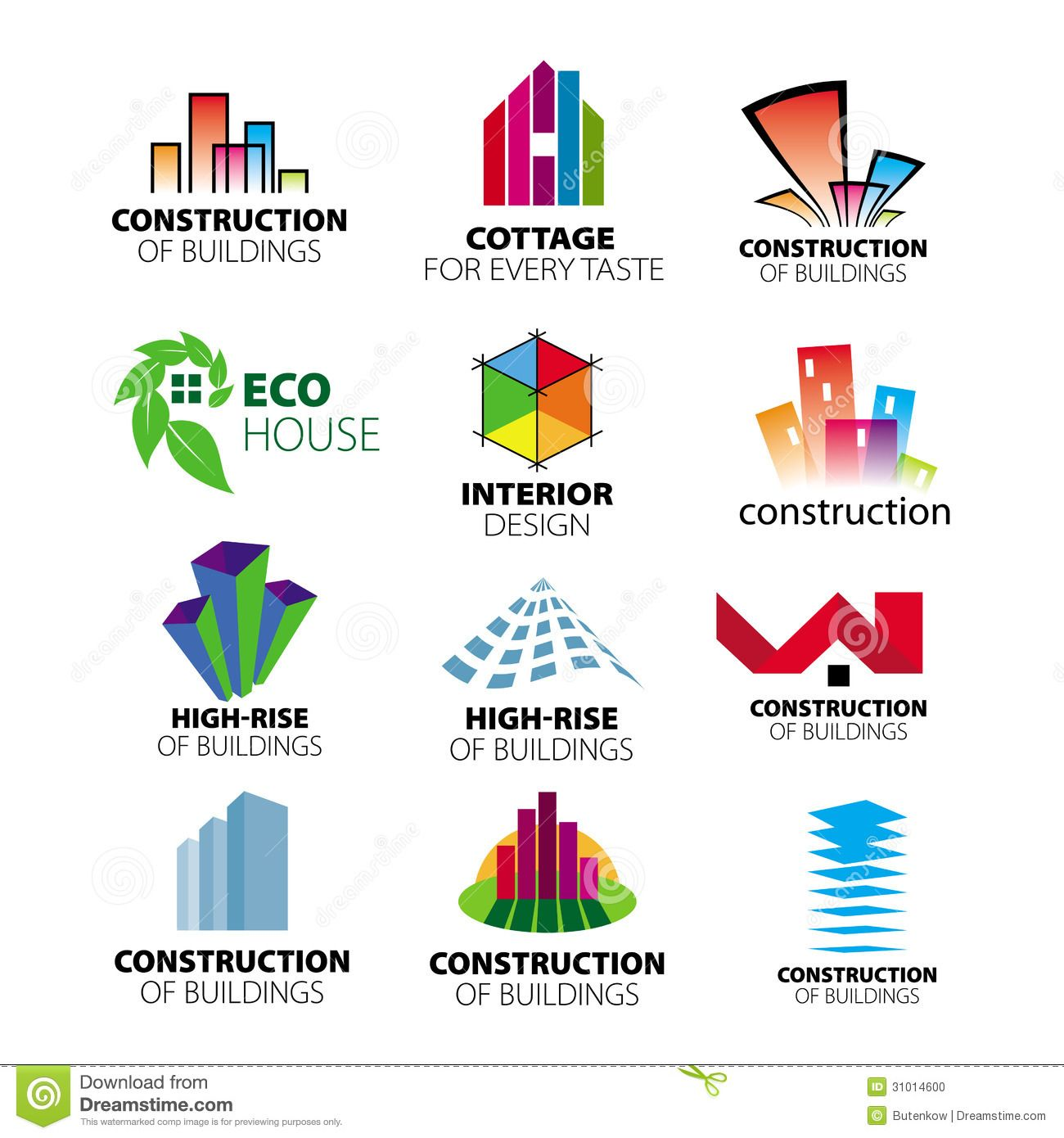 Construction Logo Vector Images Over
