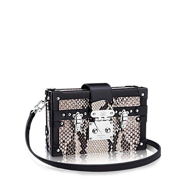 a9edb7721b0 LOUIS VUITTON Petite Malle   Louis Vuitton Handbags   Bags, Louis ...