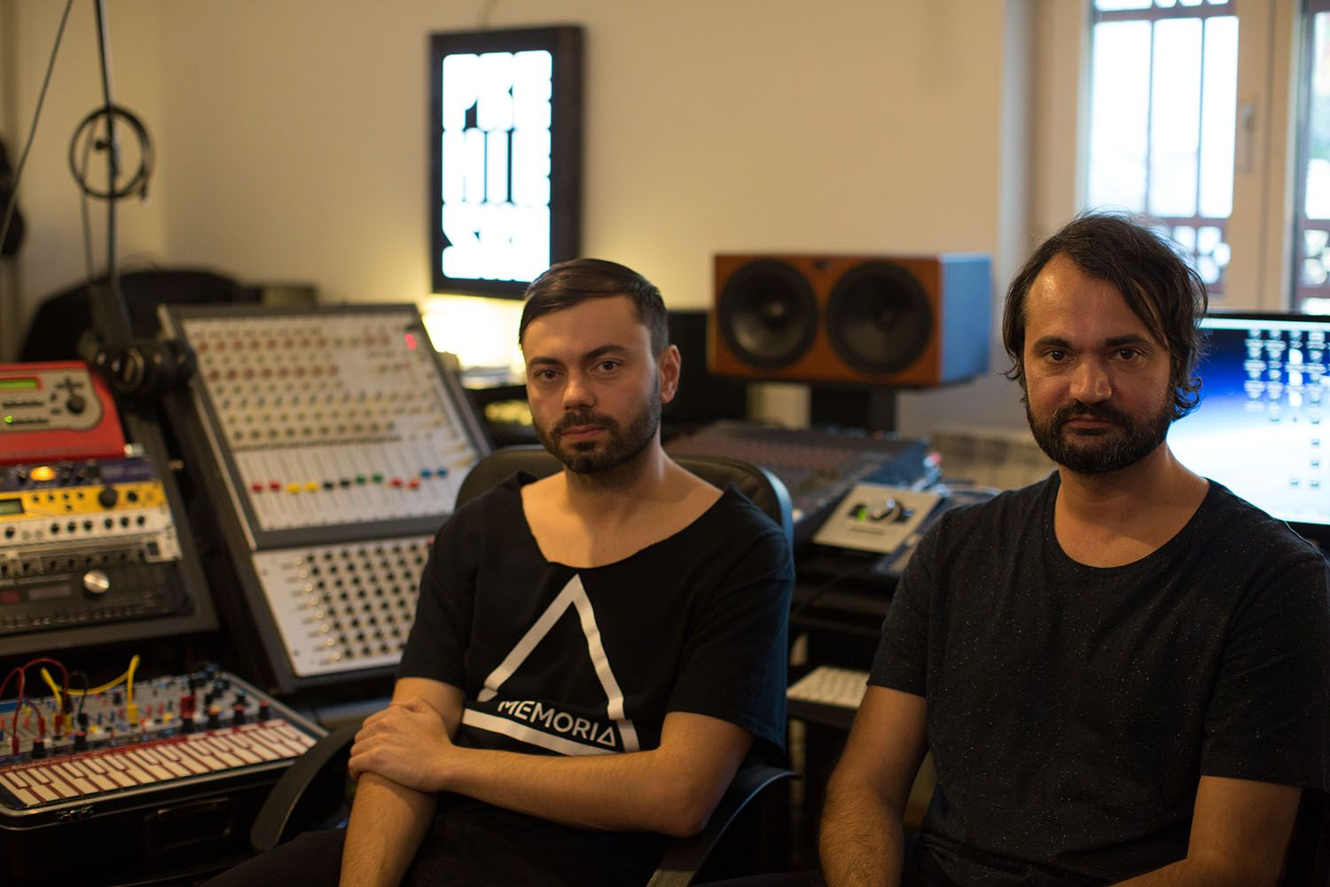 The Romanian house duo open the door to their Bucharest studio to discuss their hardware-heavy production processes.