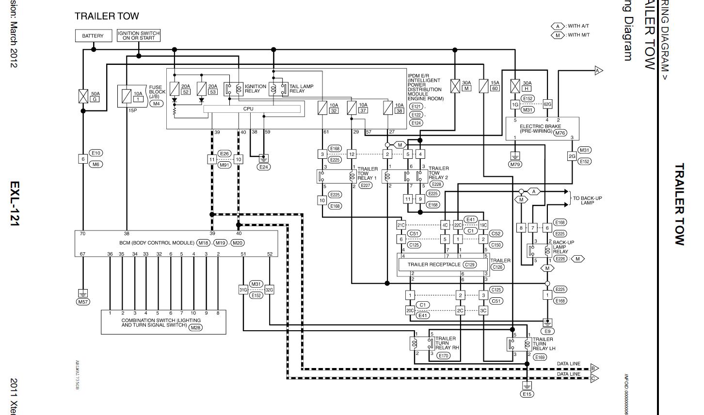 Trailer Wiring Diagram For Nissan Frontier | Trailer wiring diagram, Nissan  frontier, Nissan | 2007 Xterra Wiring Diagram Lights |  | Pinterest