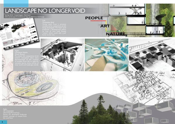 Portfolio design on pinterest portfolio layout for Architectural design sample