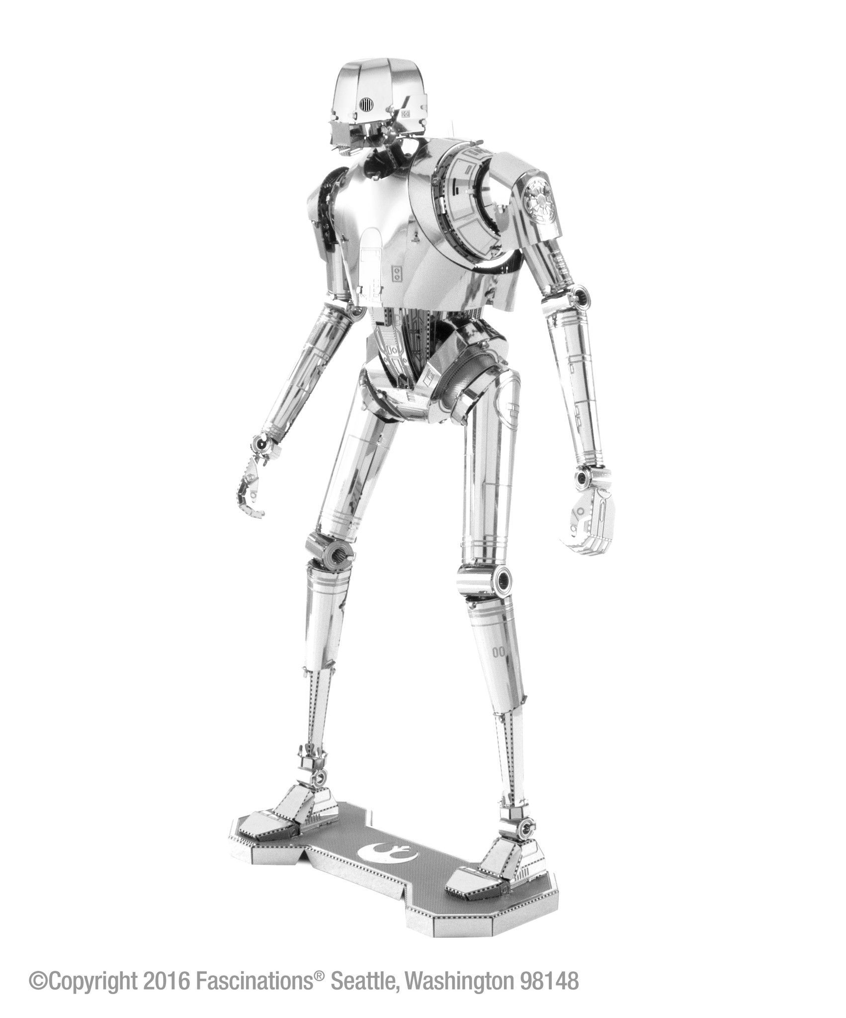Metal earth 3d laser cut model kit star wars rogue one k 2so solutioingenieria Image collections