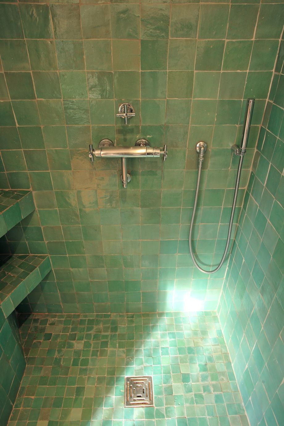 Superbe Home White Green Mermaid Bathroom   Google Search Double Douche Italienne,  Bains Gris, Salle