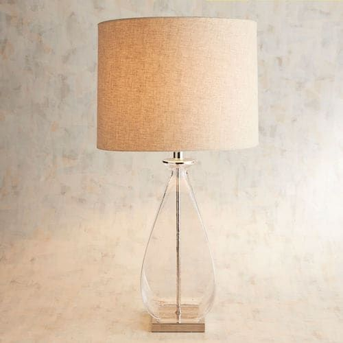 Doli Clear Glass Table Lamp Pier 1 Imports Vicki S