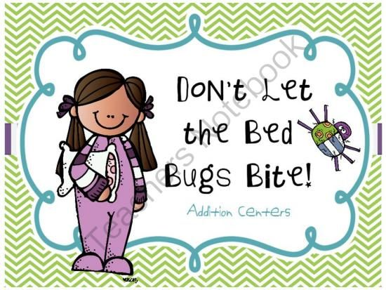 Don\u0027t Let the Bed Bugs Bite! Addition Centers - This package - student sign in sheet