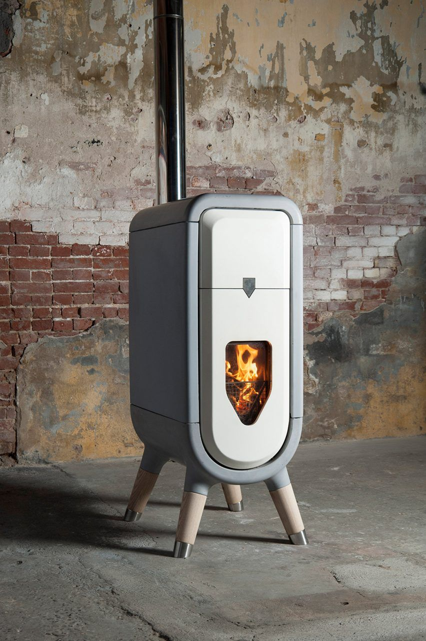Tjep Designs Sustainable Wood Burner For The Modern Home With