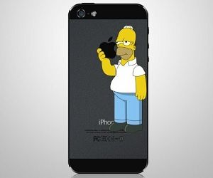 Homer Simpson Case Jumping iPhone 7: Amazon.co.uk: Electronics