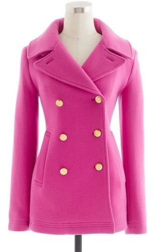 pink pea coats for women | Gommap Blog