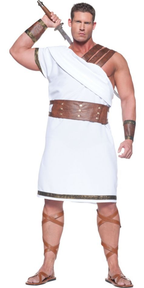Plus Size Greek Warrior Costume For Men Party City Greek Costume Roman Costume Warrior Costume
