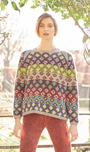 Ravelry: Brodie Pullover pattern by Lisa Richardson | fair isle ...