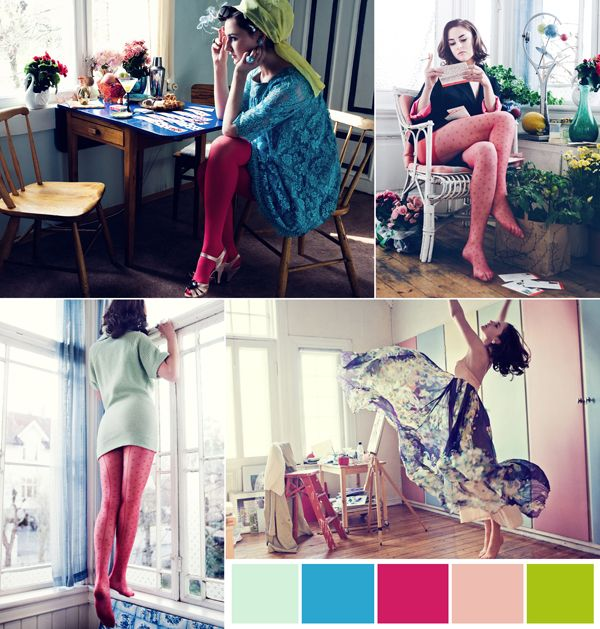 I love this collection by Cecilie Melli, so perfect for the life of a freelancer...