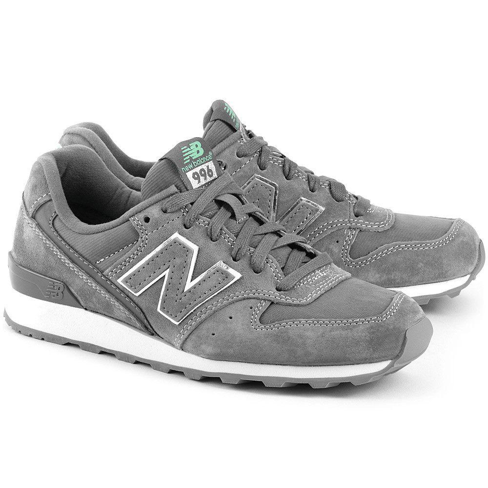 New Balance Lifestyle 996 Szare Zamszowe Sportowe Damskie Wr996eb Wr996eb Buty Kobiety Sportowe New Balance Sneaker Shoes Sneakers