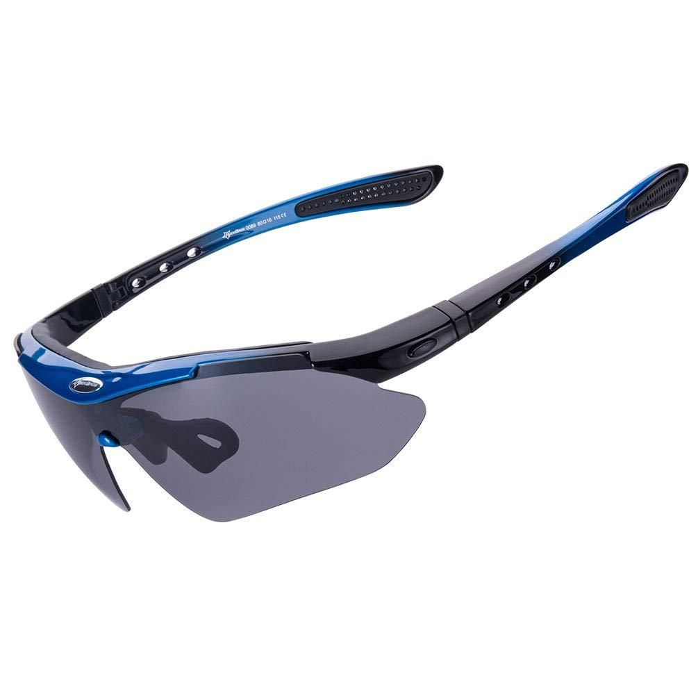 9c7662858352 RockBros Polarized Sports Sunglasses UV Protection Cycling Glasses for Men  Women Outdoor Running Driving Fishing Golfing