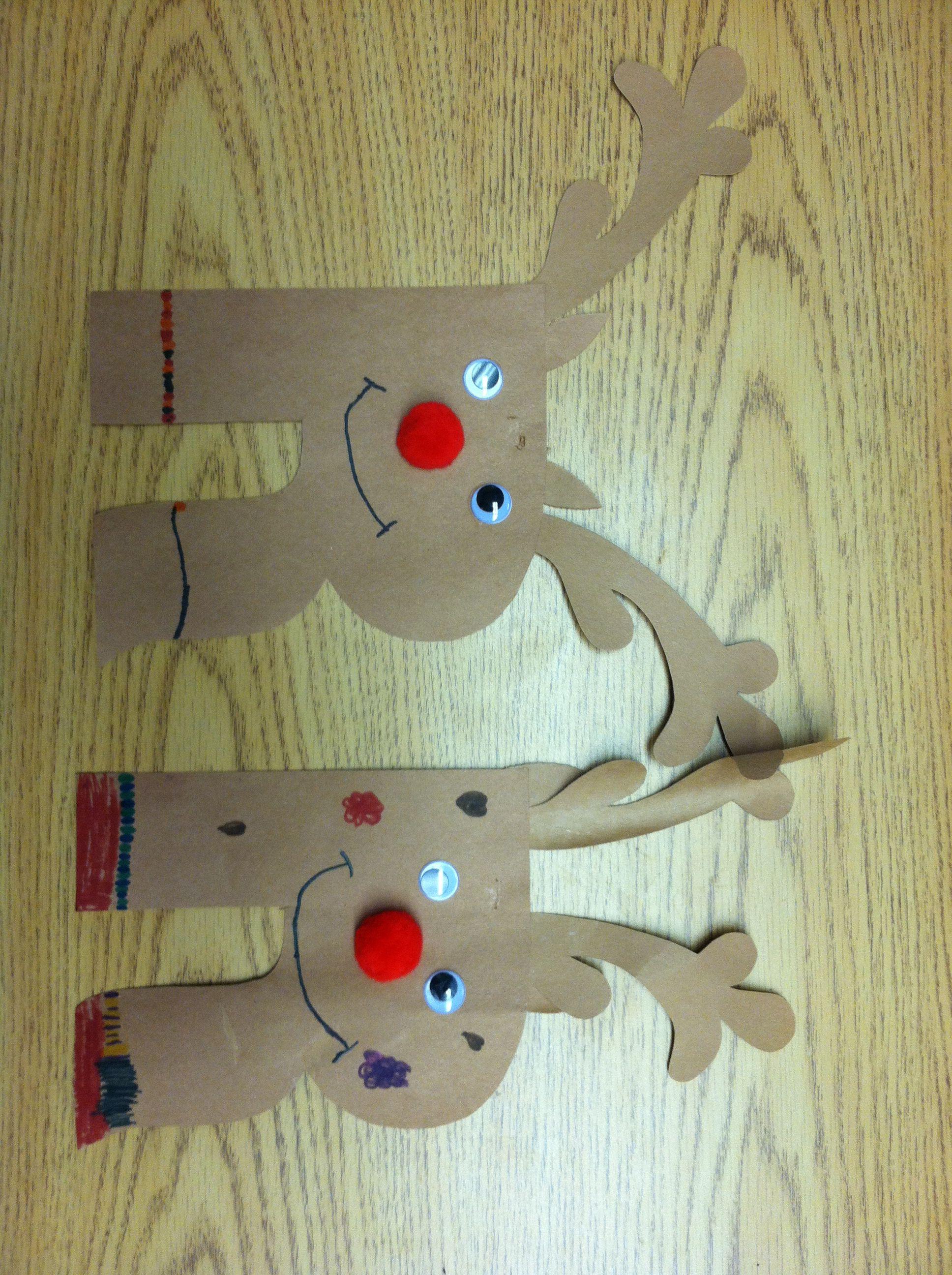 Letter R Reindeer Craft