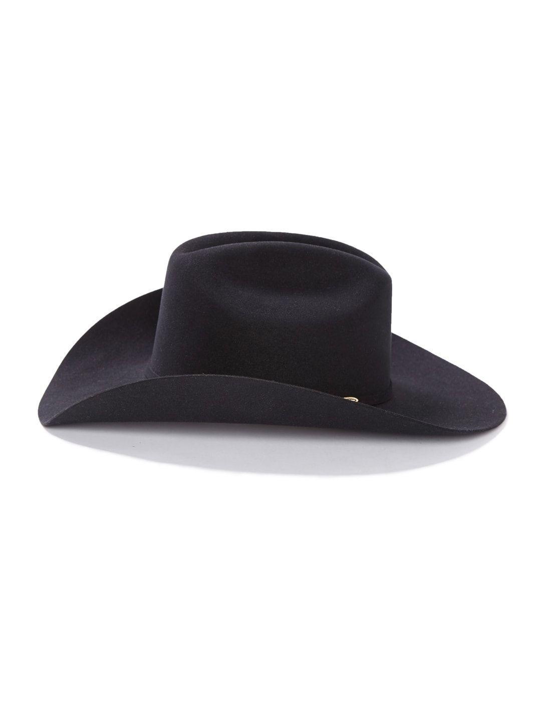 bde1dea5d41e9 Stetson HighPoint 6X Cowboy Hat Black 3 Piece Silver Tone Buckel Quality  Fur Felt Item SFHIPT7740