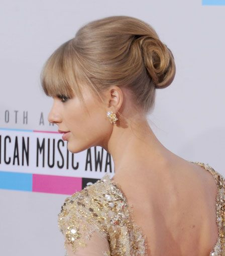 taylor swift retro updo back of hair | Taylor Swift Retro Inspired Hair Updo | يباب.كوم