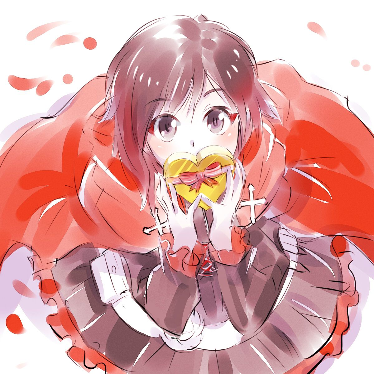 RWBY: A Valentine's Day Gift for You - Ruby (That's adorable!)
