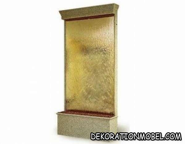 ideen für zimmerbrunnen indoor wasserfall aquare Interior Design
