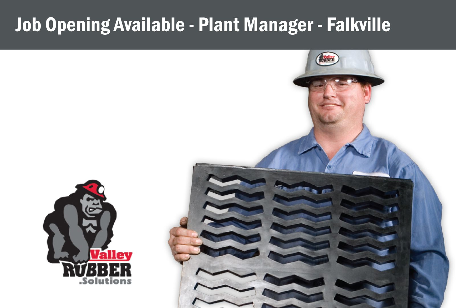 JOB OPENING AVAILABLE PLANT MANAGER Employer Valley