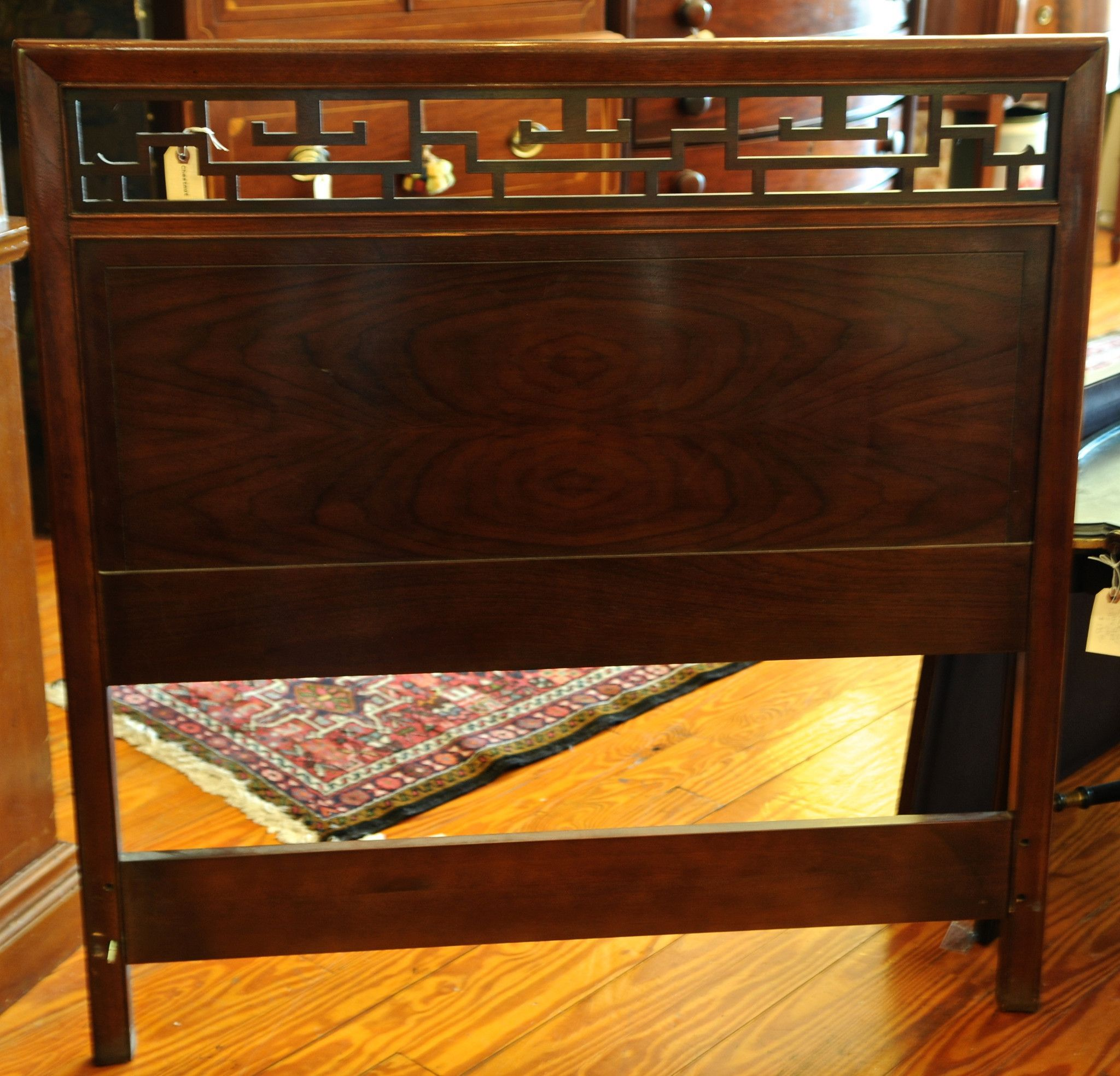 Small Homearchitecture: Two Baker Chinese Chippendale Twin Headboards