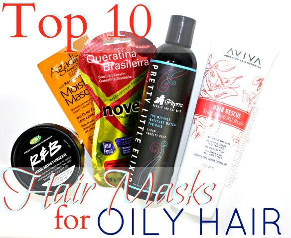 Top 10 Hair Masks for Oily Hair #oilyhair