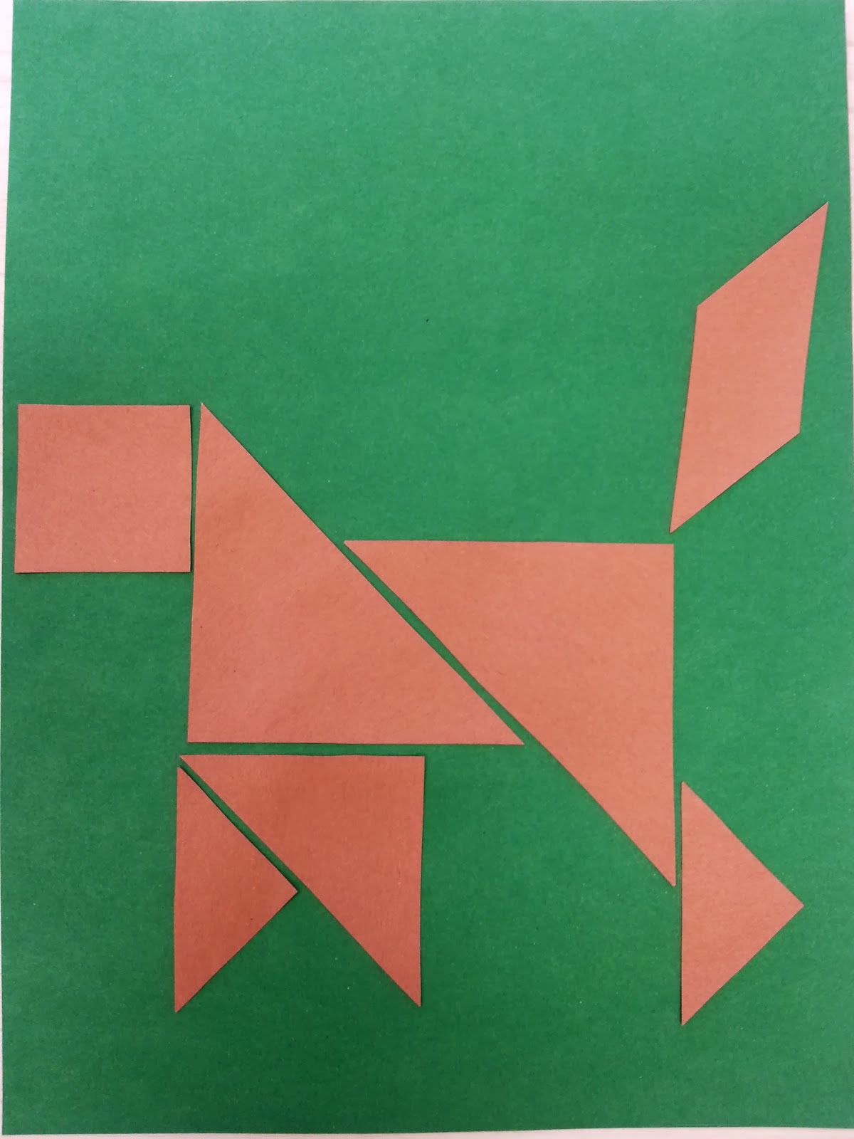 chinese new year crafts for kids | Tangram | Pinterest