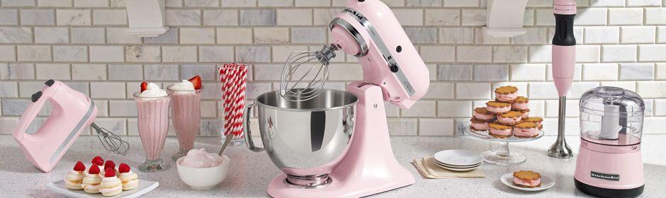 Kitchenaid Pink Collection Handmixer Stand Mixer Immersion