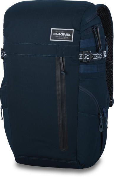 """DAKINE 30L APOLLO STREET BACKPACK PACK LAPTOP & IPAD SLEEVE NAVY CANVAS 2015 KEY FEATURES  Multiple accessory pockets Padded laptop sleeve Fits most 17"""" laptops Padded iPad sleeve Top load organizer pockets Zippered side pockets Quick access pocket Adjustable sternum strap Side access Headphone pocket #dakine #apollobackpackpackbag30Llaptopipadsleeve #colournavycanvas"""