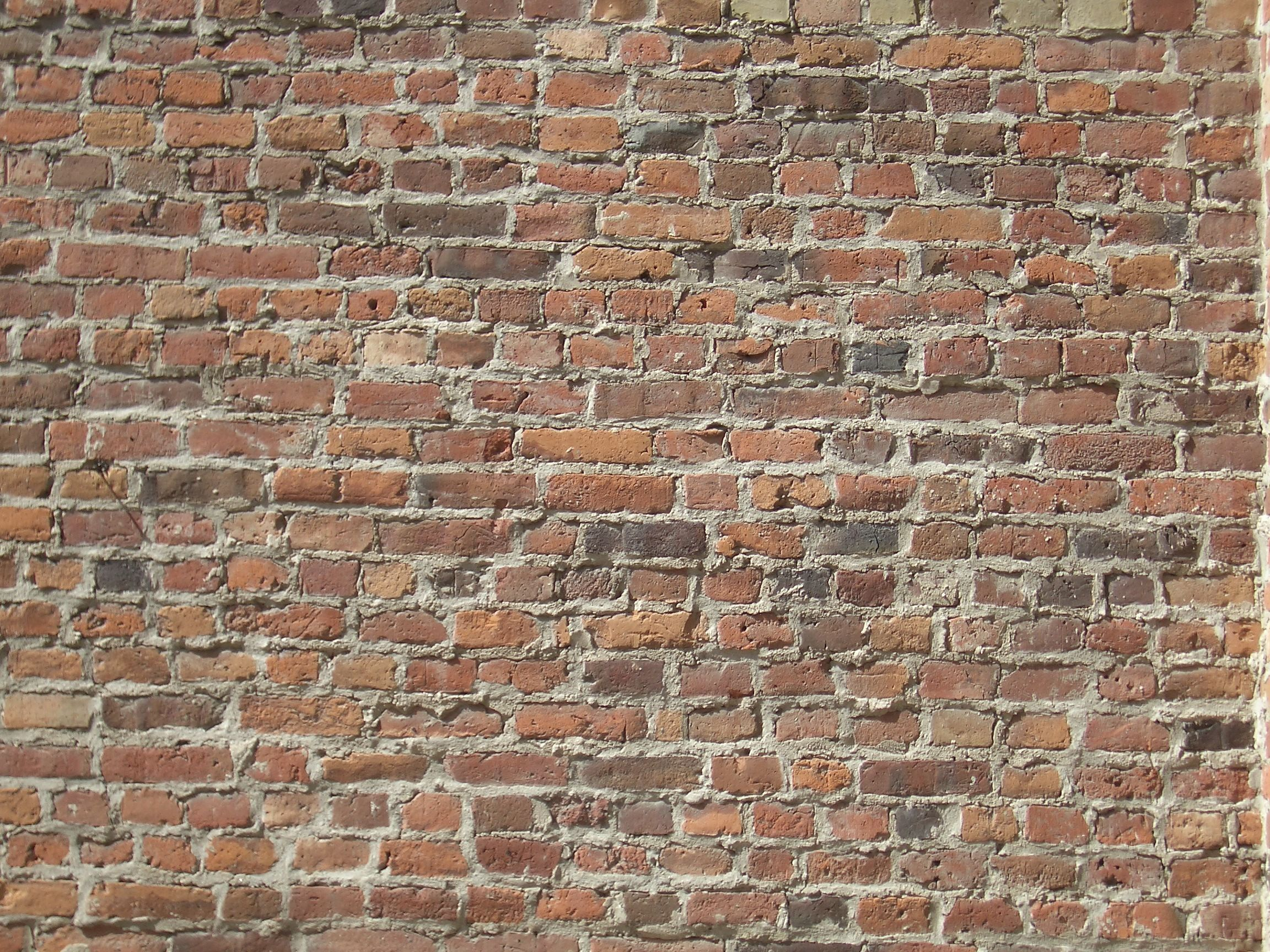 Brick Wall With Aged Character Old Brick Wall Brick Wall Old Bricks