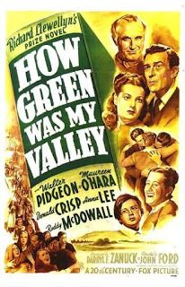 Qué Verde Era Mi Valle 1941 Peliculas De Oscar Carteles De Cine Afiche De Cine