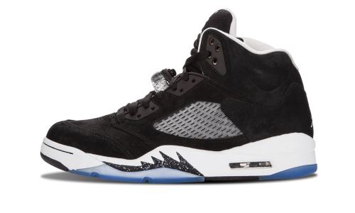 fast delivery buy sale outlet store Nike Mens Air Jordan 5 Retro 'Oreo' Black/Cool Grey 136027-035 ...