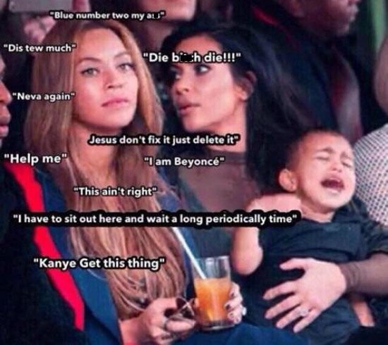 15 Hilarious North West Reactions From Instagram And Twitter