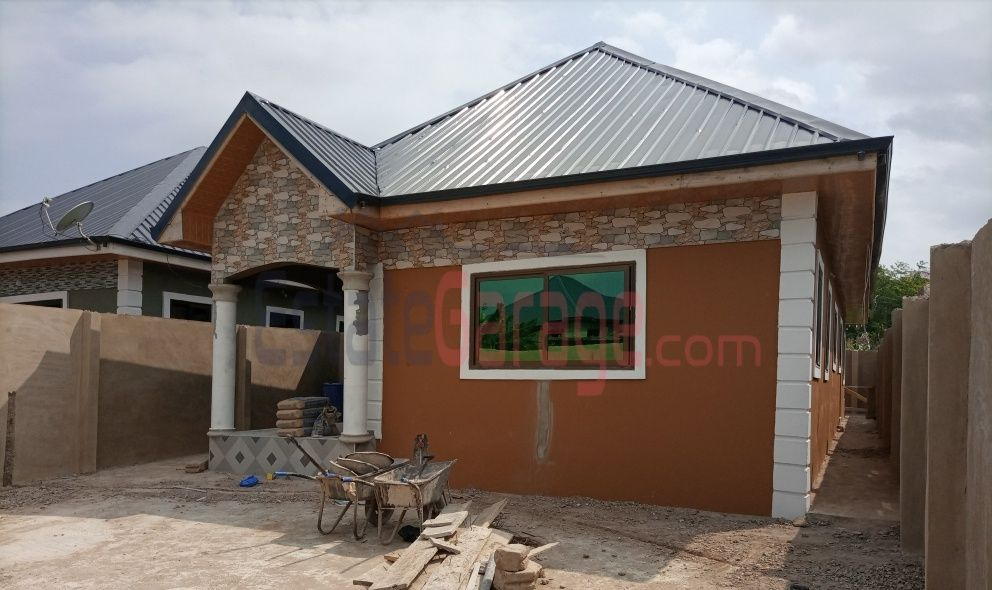 New 3 Master Bedroom House At Fanmilk Kasoa For Sale House Property House Renting A House