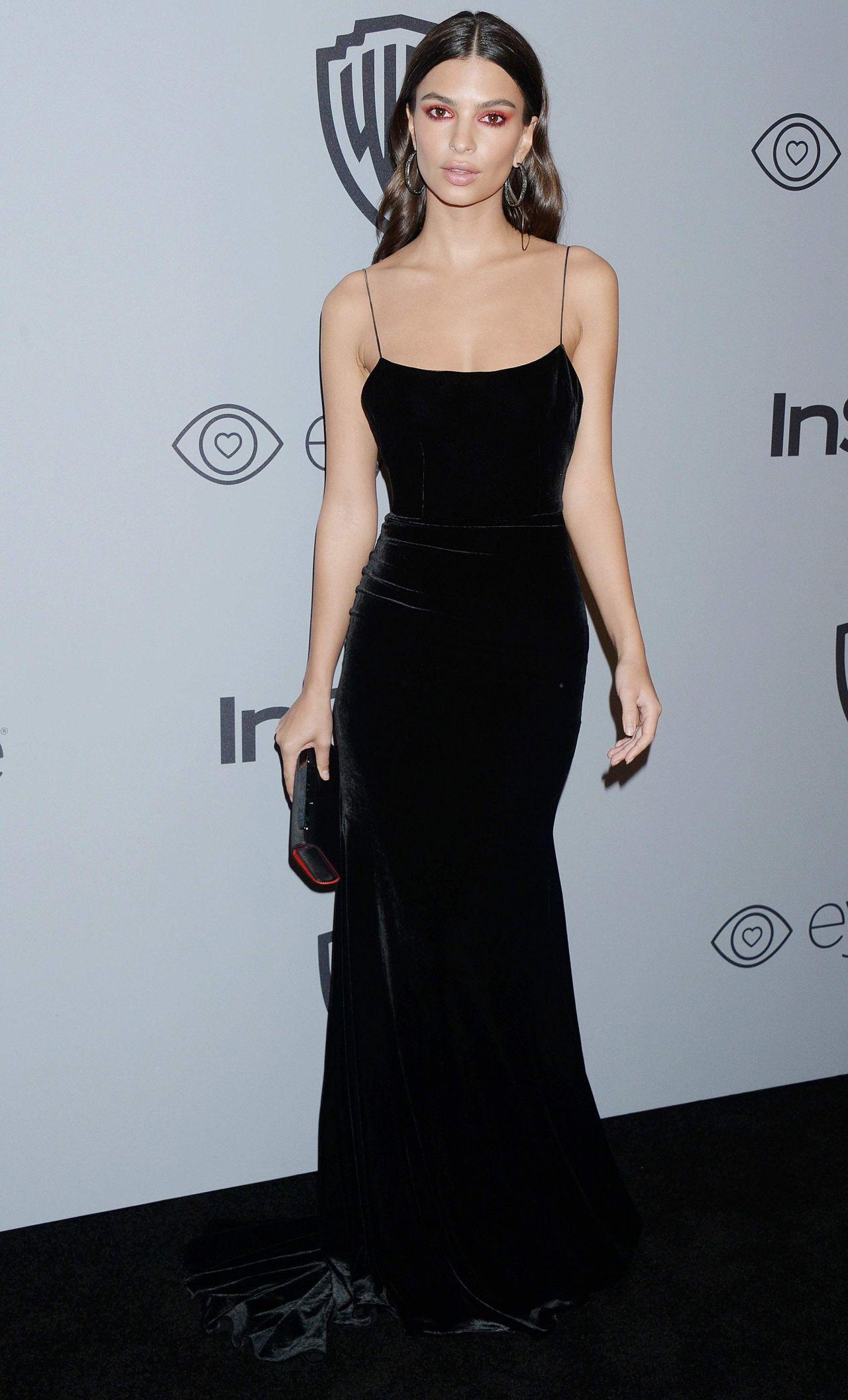 Emily Ratajkowski – InStyle and Warner Bros Golden Globes 2018 After ...