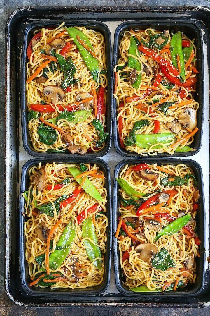 Lo Mein Meal Prep save time money and calories when preparing for everything Lo Mein Meal Prep save time money and calories when preparing for everything