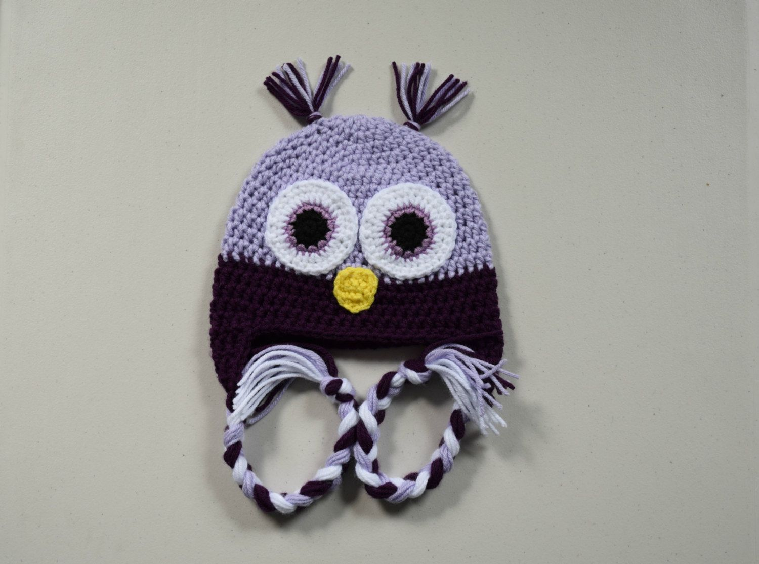 Owl Hat , Baby Owl Hat, Child Owl Hat, Crochet Owl Hat, Wide Eyed Owl Hat - pinned by pin4etsy.com