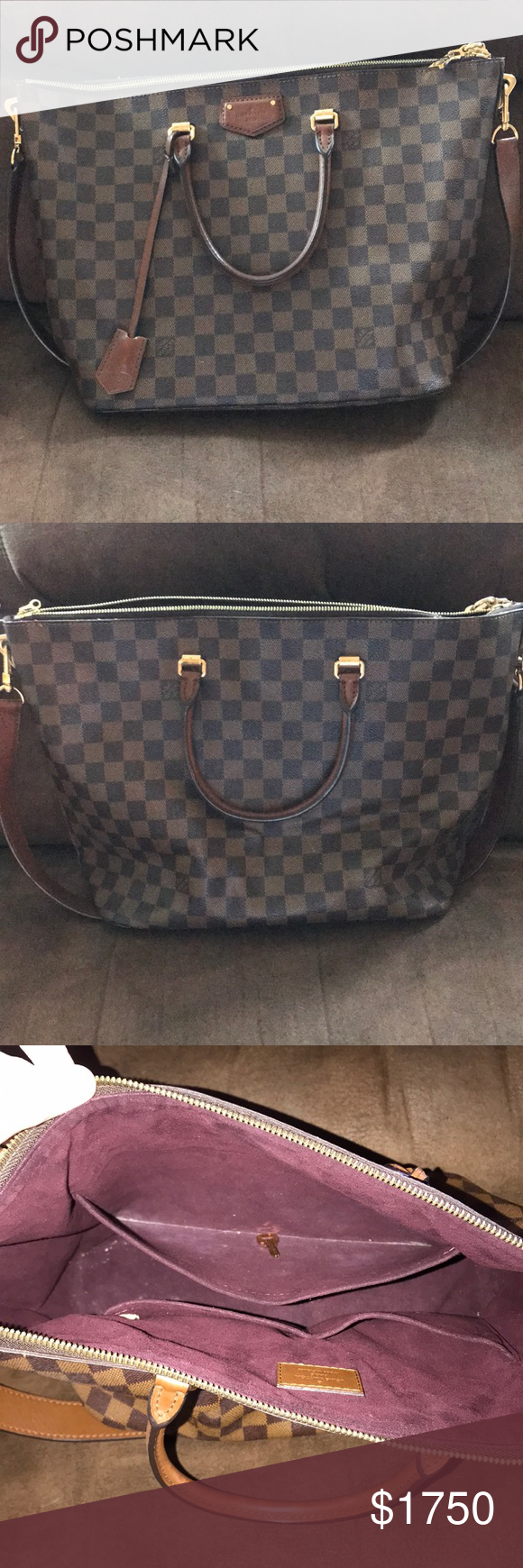 Louis Vuitton Belmont Damier Ebene Louis Vuitton Belmont