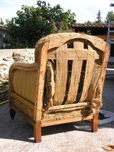 Fauteuil club : restauration dun vieux fauteuil – Un ptit coin chez Sophie …