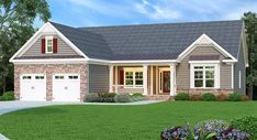 Traditional House Plan 009