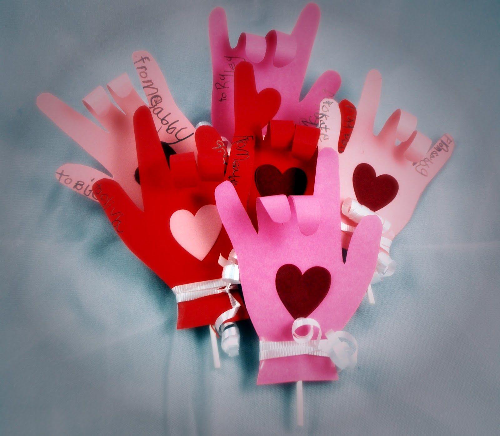 jill of all trades craft kindergarten valentines - Valentines For Kindergarten Class