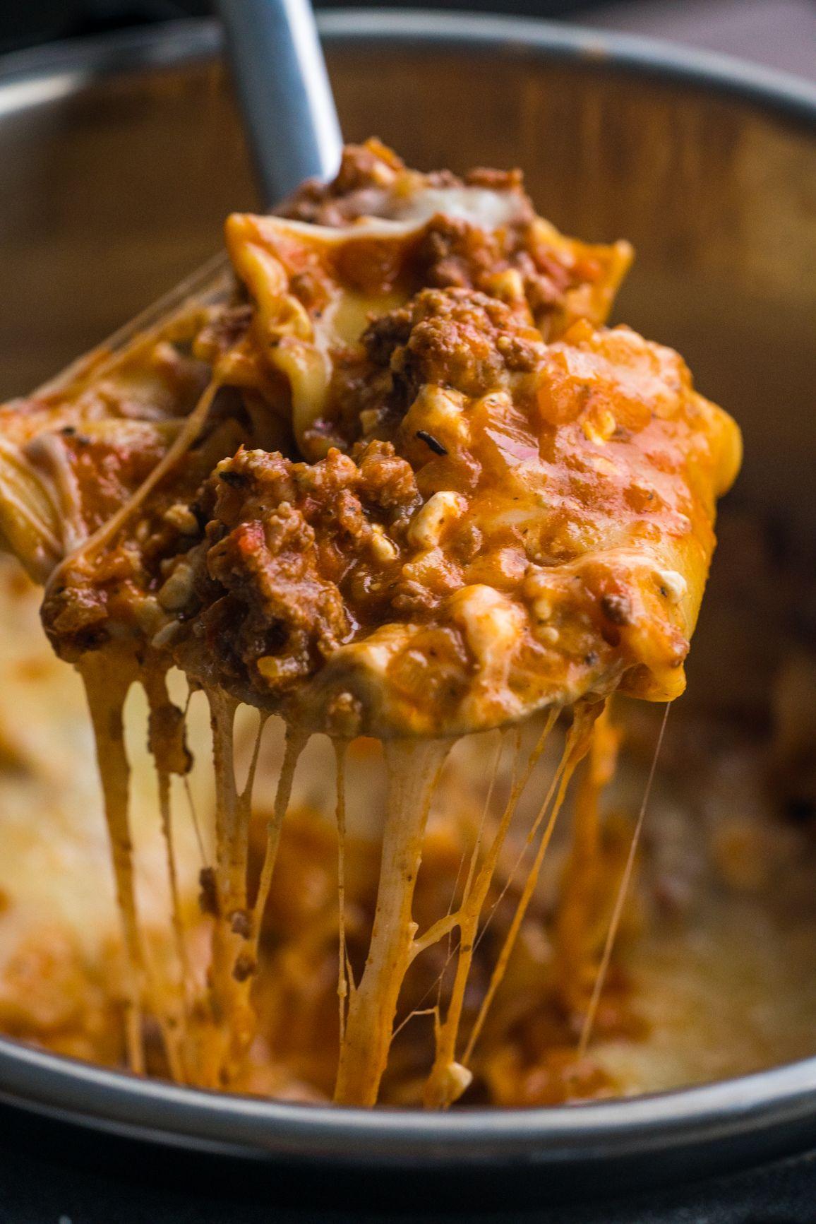Instant Pot Lazy Lasagna 12 Tomatoes Instant Pot Lasagna Recipe Recipes Potted Beef Recipe